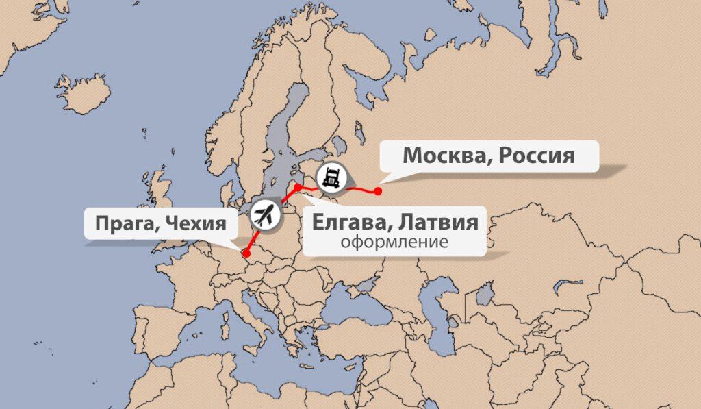 Быстрая доставка грузов из Чехии