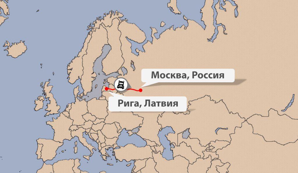 Быстрая доставка грузов из Латвии