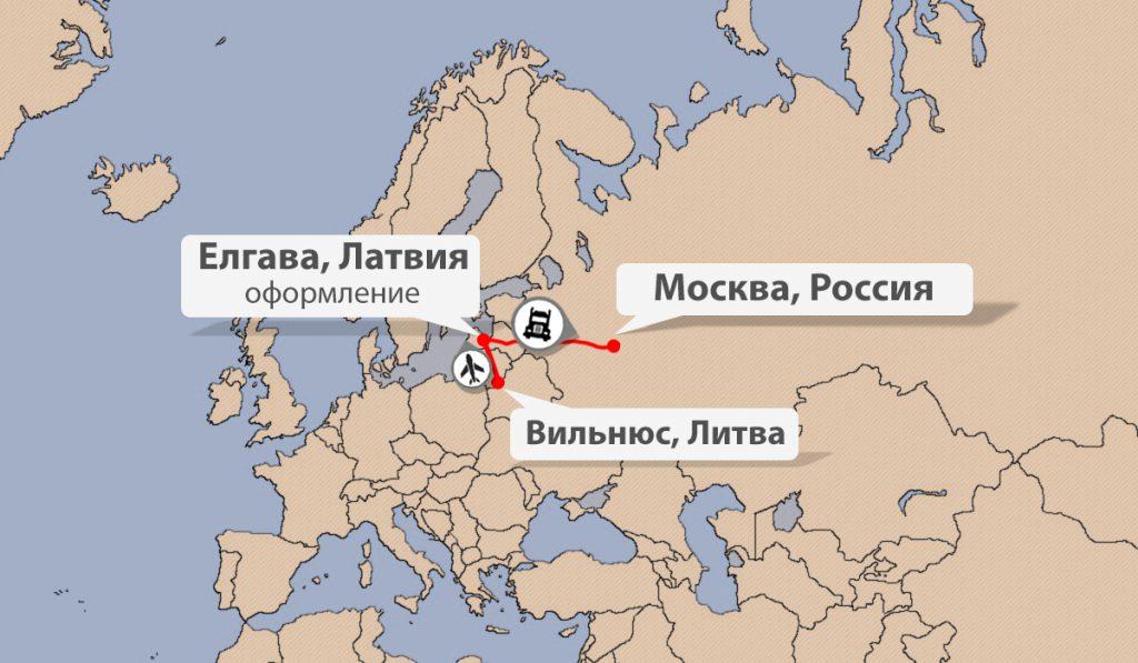 Быстрая доставка грузов из Литвы